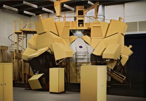 Simulator by Thomas Demand