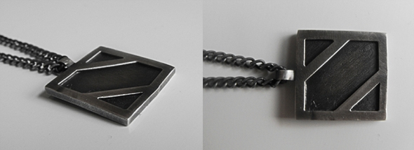 Panel Necklace - Brutal Jewellery