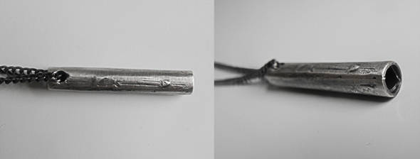 Pipe Necklace - Brutal Jewellery