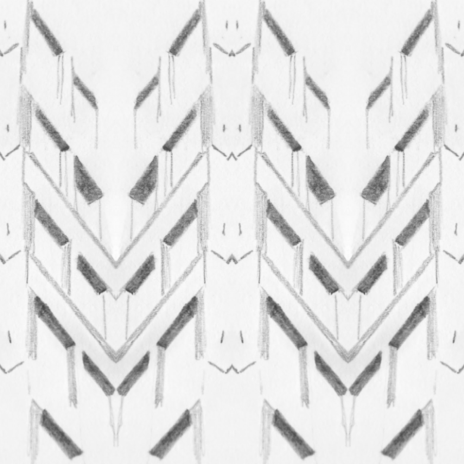 architectural pattern drawing 3 reflection