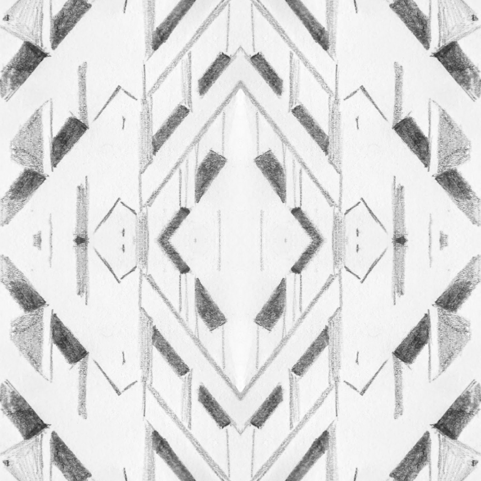 architectural pattern drawing 4 shape