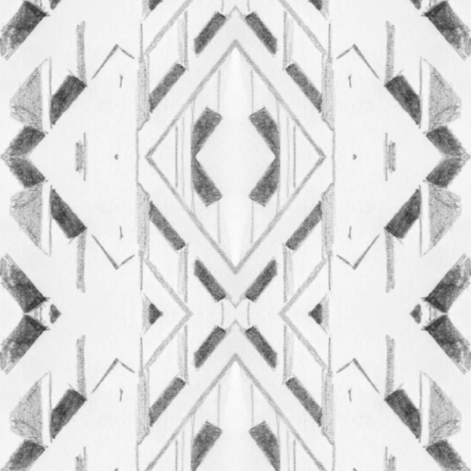 architectural pattern drawing 7 wave
