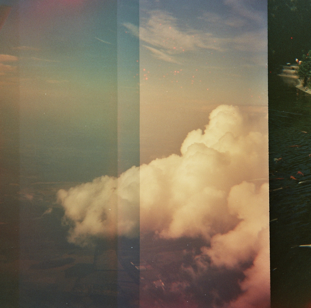 Clouds - Double Exposure